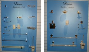 Bath Accessories Display