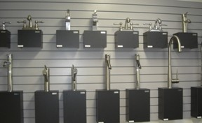 Faucets Display